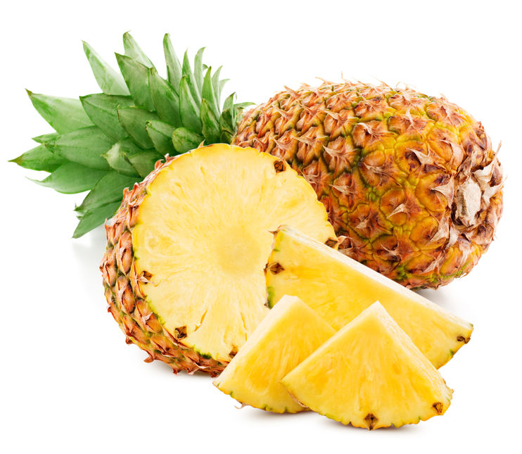 Ananas - 2 pièces